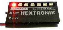 Hextronic battery indicator