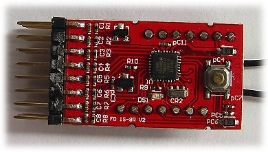 FlyDream 2.4GHz receiver PCB